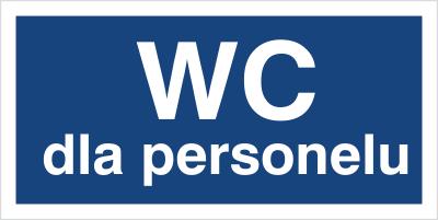 WC dla personelu (823-03)