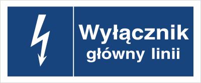 Znak Wyłącznik główny linii (530-02)