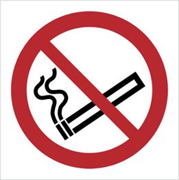 Obrazek dla kategorii Znak Zakaz palenia tytoniu (P02)