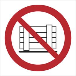 Obrazek dla kategorii Znak Nie zastawiać (P23)
