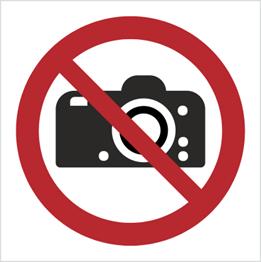 Obrazek dla kategorii Znak Zakaz fotografowania (P29)