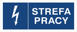 Obrazek dla kategorii Znak Strefa pracy (530-12)