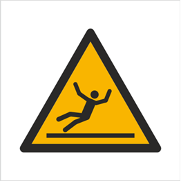 Obrazek dla kategorii Znak Ostrzeżenie przed śliską nawierzchnią (W11)
