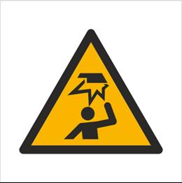 Obrazek dla kategorii Znak Ostrzeżenie przed uszkodzeniem głowy (W20)