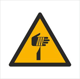 Obrazek dla kategorii Znak Ostrzeżenie przed ostrymi elementami (W22)