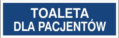 Toaleta dla pacjentów (823-30)