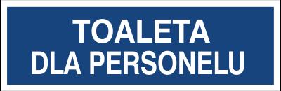 Toaleta dla personelu (823-31)