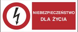 Obrazek dla kategorii Znaki elektryczne zakazu typu B wg PN-88-E-08501
