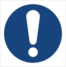 Obrazek dla kategorii Znak Ogólny znak nakazu (M01)