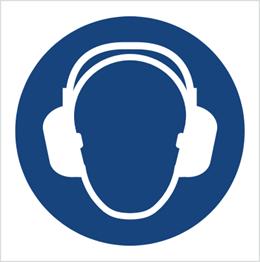 Obrazek dla kategorii Znak Nakaz stosowania ochrony słuchu (M03)