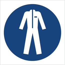 Obrazek dla kategorii Znak Nakaz stosowania odzieży ochronnej (M10)