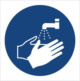 Obrazek dla kategorii Znak Nakaz mycia rąk (M11)