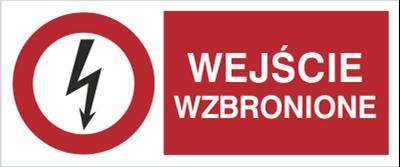 Znak Wejście wzbronione (630-05)