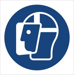 Obrazek dla kategorii Znak Nakaz stosowania ochrony twarzy (M13)