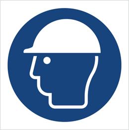 Obrazek dla kategorii Znak Nakaz stosowania ochrony głowy (M14)
