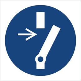 Obrazek dla kategorii Znak Odłącz przed przystąpieniem do konserwacji lub naprawy (M21)