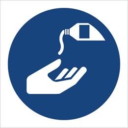 Obrazek dla kategorii Znak Nakaz stosowania kremu ochronnego (M22)