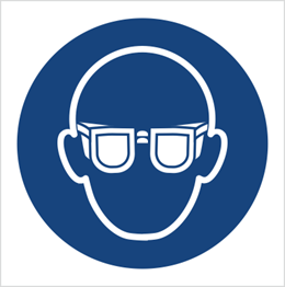 Obrazek dla kategorii Znak Nakaz stosowania ochrony oczu (M04)
