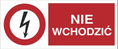 Znak Nie wchodzić (630-06)