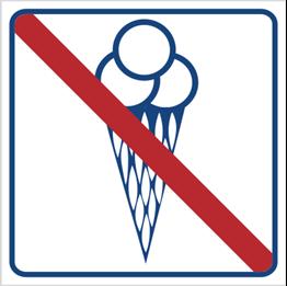 Obrazek dla kategorii Zakaz wchodzenia z lodami (823-13)