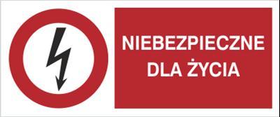 Znak Niebezpieczne dla życia (630-09)