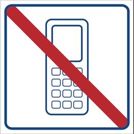 Obrazek dla kategorii Zakaz używania telefonów komórkowych (823-17)
