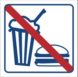Obrazek dla kategorii Zakaz spożywania posiłków i napojów (823-45)