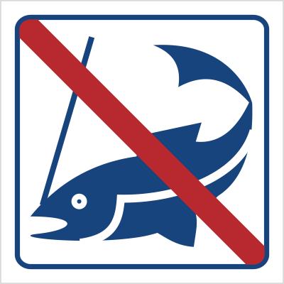 Zakaz łowienia ryb (823-48)