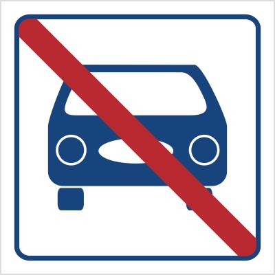 Zakaz parkowania (823-49)