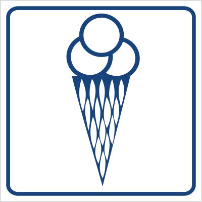 Punkt sprzedaży lodów (823-50)