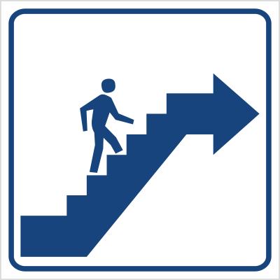 Schody w górę prawo (823-60)