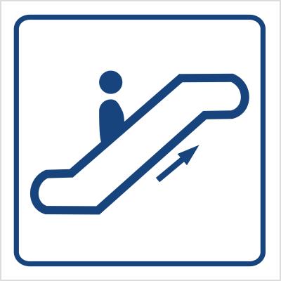 Schody ruchome w górę (823-61)