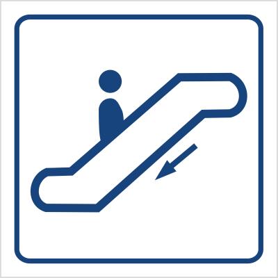 Schody ruchome w dół (823-63)