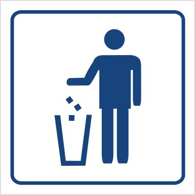 Kosz na odpadki (823-77)