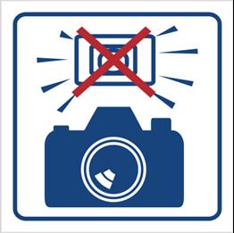 Obrazek dla kategorii Zakaz używania lamp błyskowych (823-80)