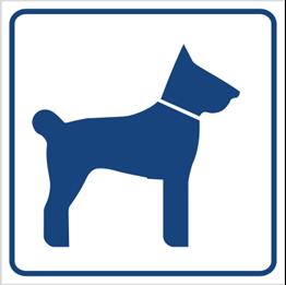 Obrazek dla kategorii Tu wolno wchodzić ze zwierzętami (823-90)