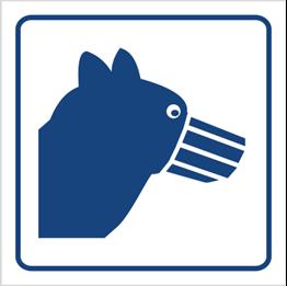 Obrazek dla kategorii Psy wprowadzać w kagańcu (823-92)