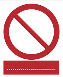 Obrazek dla kategorii Znak Ogólny zakazu  (601)