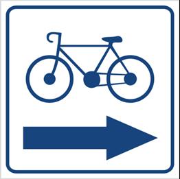 Obrazek dla kategorii Kierunek ścieżki rowerowej (w prawo) (823-94)