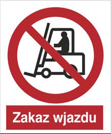 Obrazek dla kategorii Znak Zakaz wjazdu (604 - 02)