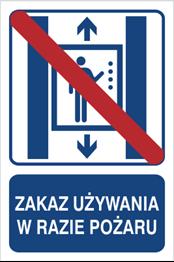 Obrazek dla kategorii Zakaz używania w razie pożaru (856-03)