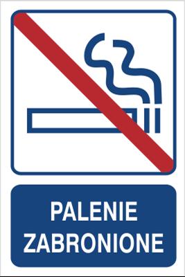 Palenie zabronione (823-100)