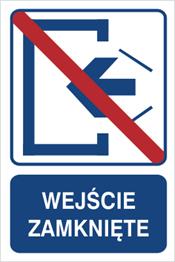 Obrazek dla kategorii Wejście zamknięte (823-102)