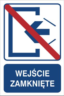 Wejście zamknięte (823-102)