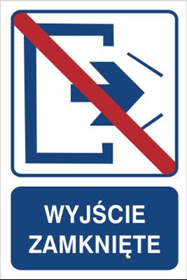 Wyjście zamknięte (823-103)