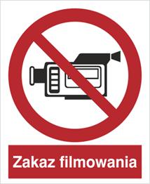 Obrazek dla kategorii Znak Zakaz filmowania (615)