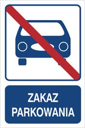 Obrazek dla kategorii Zakaz parkowania (823-104)