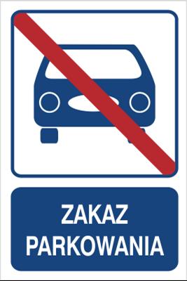 Zakaz parkowania (823-104)