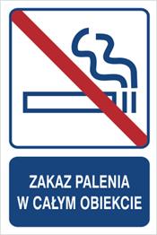 Obrazek dla kategorii Zakaz palenia w całym obiekcie (823-105)