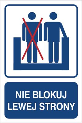 Nie blokuj lewej strony (823-110)